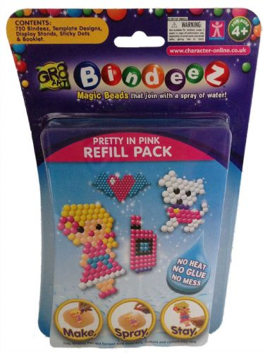 Bindeez Refill Packs - 750 Beads - PRETTY IN PINK